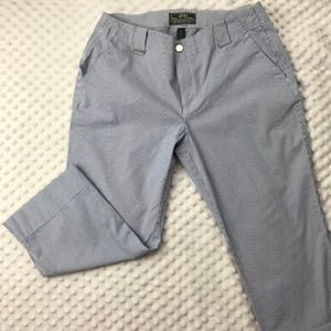 Ralph Lauren Active Capris, Blue and White, Size 6